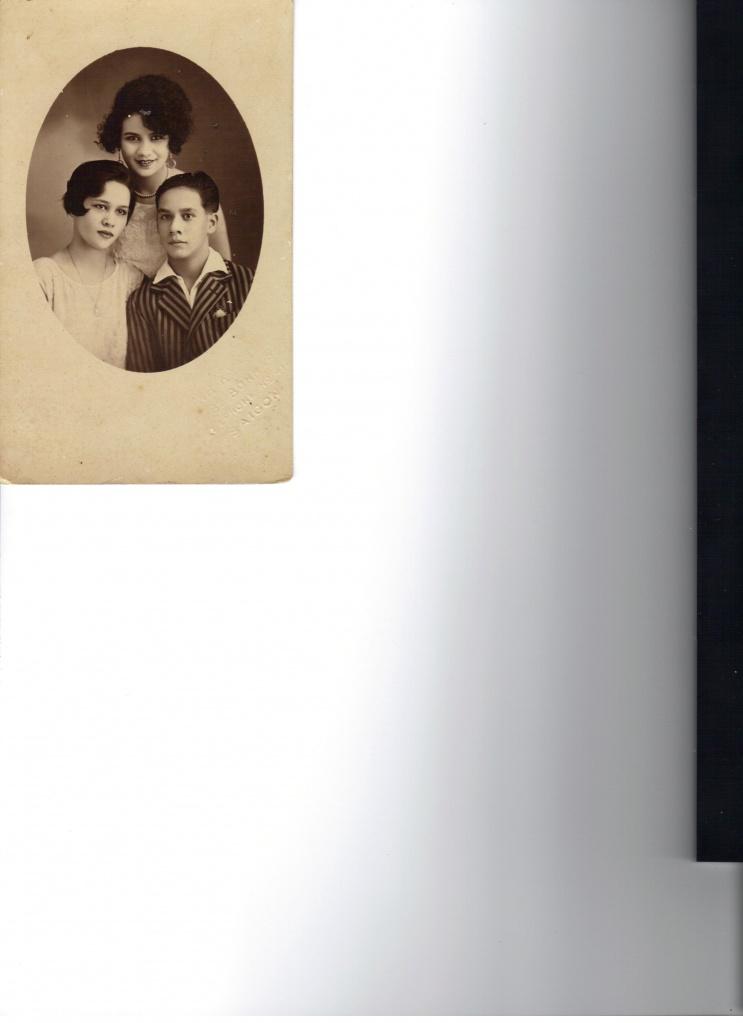 Antoinette, Margueite et Pierre PALLIER